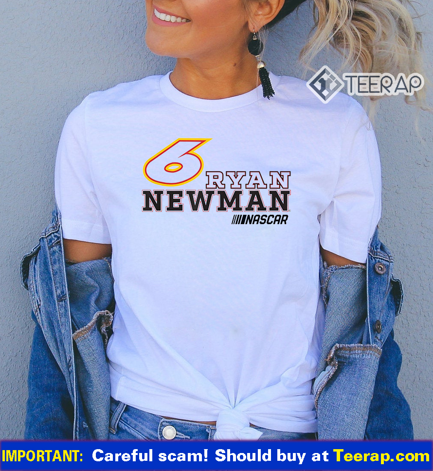 6 Ryan Newman Bold NASCAR Shirts