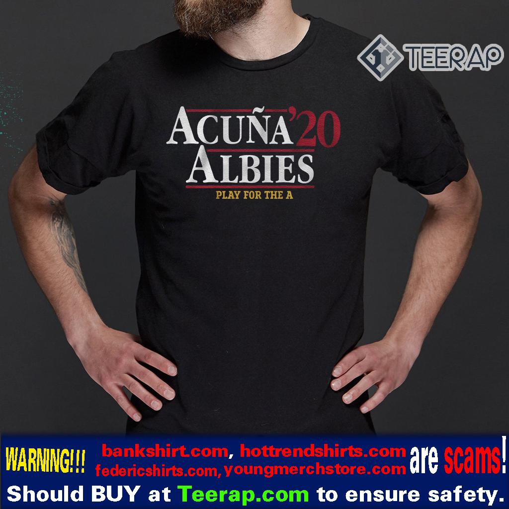 acuna albies 2020 shirt