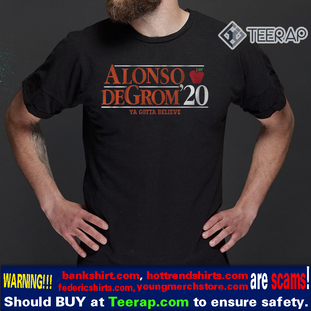 alonso degrom 2020 t-shirts