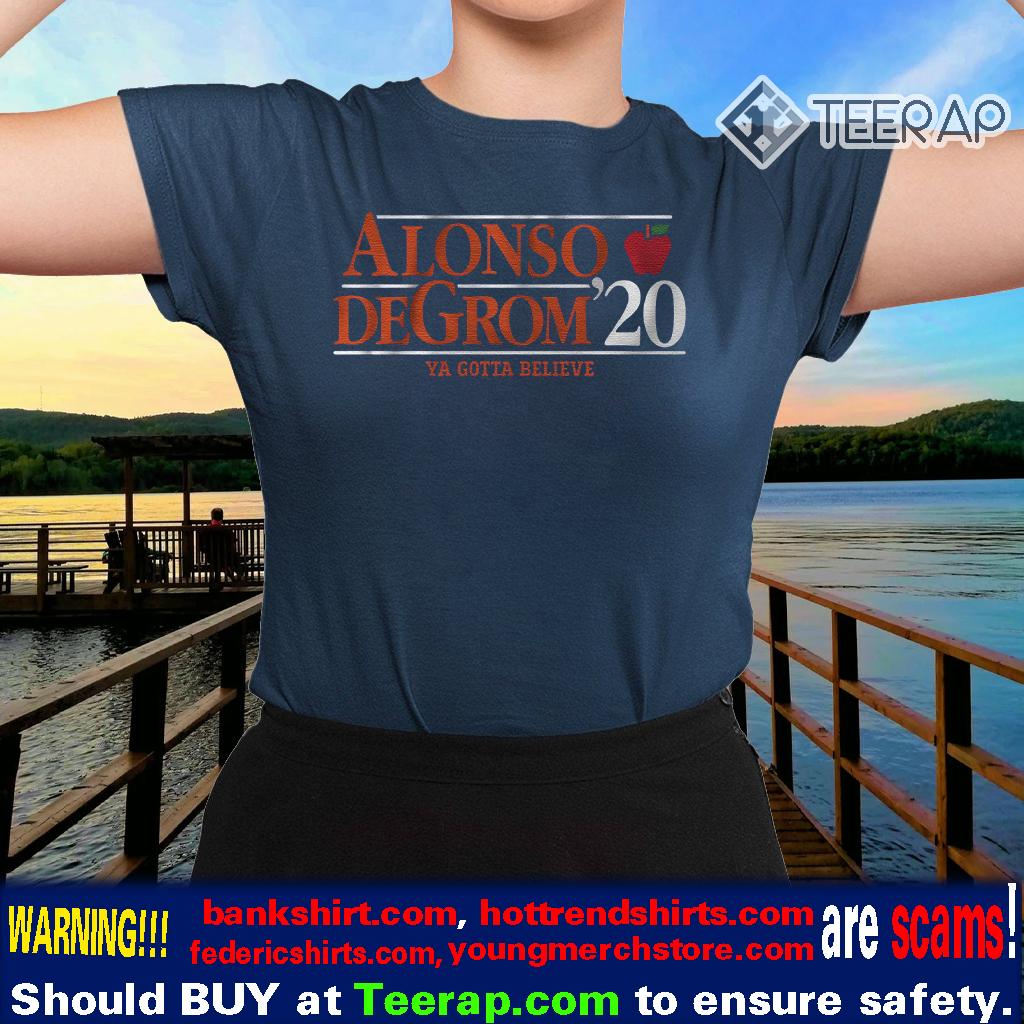 alonso degrom 2020 tshirts