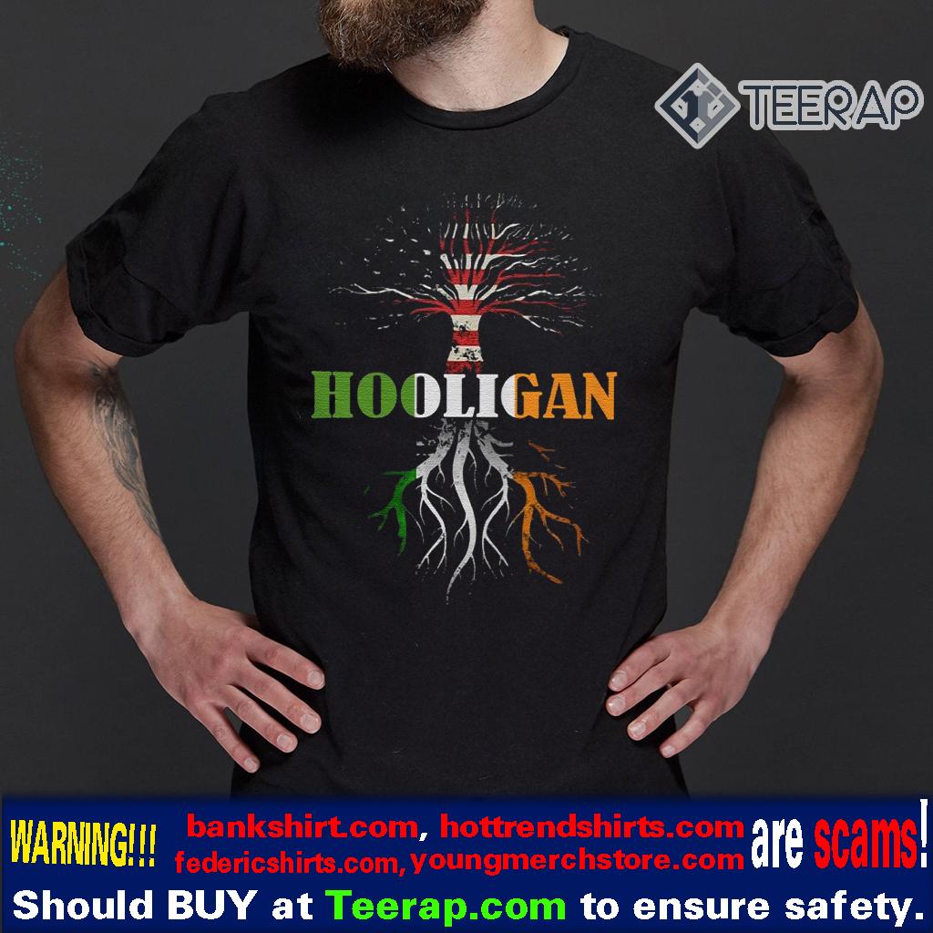 American Irish Hooligan St Patrick's Day Shirt