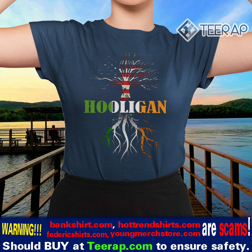 American Irish Hooligan St Patrick's Day Shirts