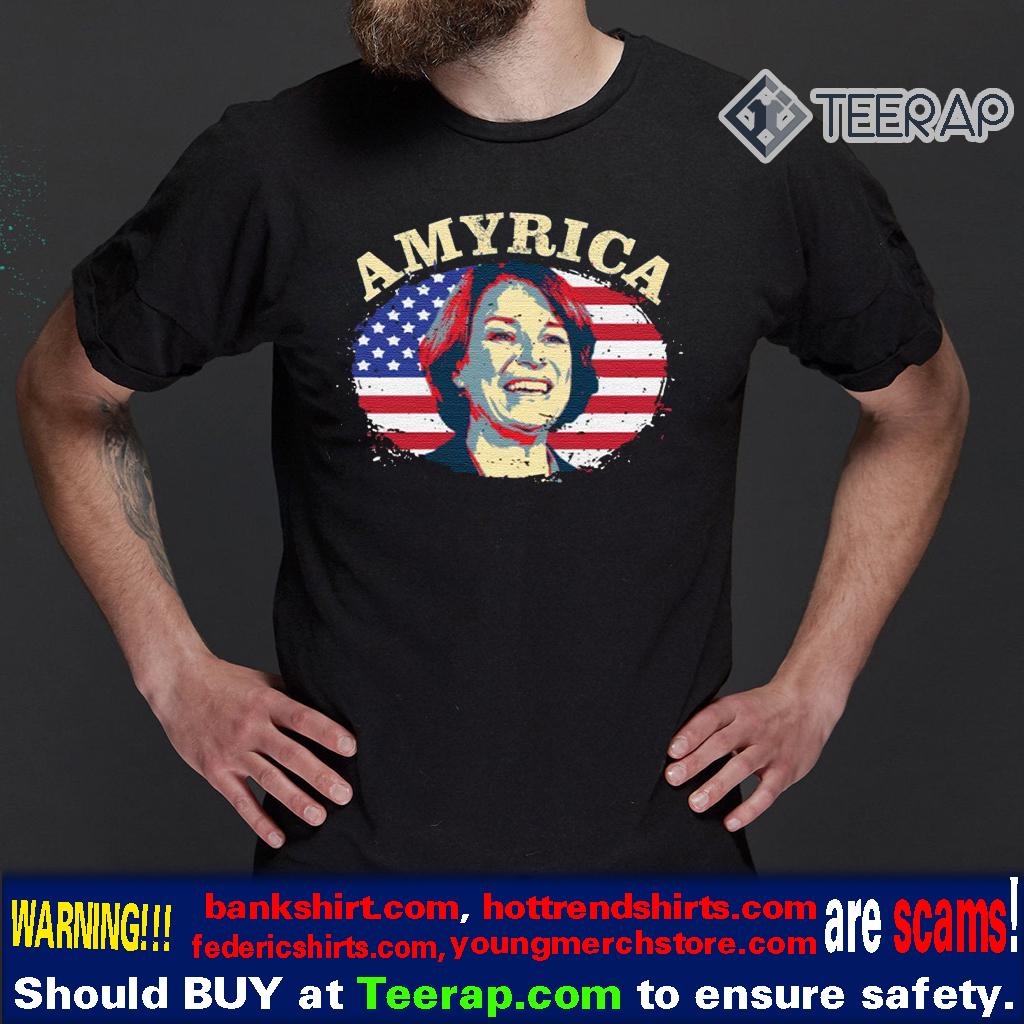AMYRICA - Amy for America - Amy Klobuchar 2020 US TShirts