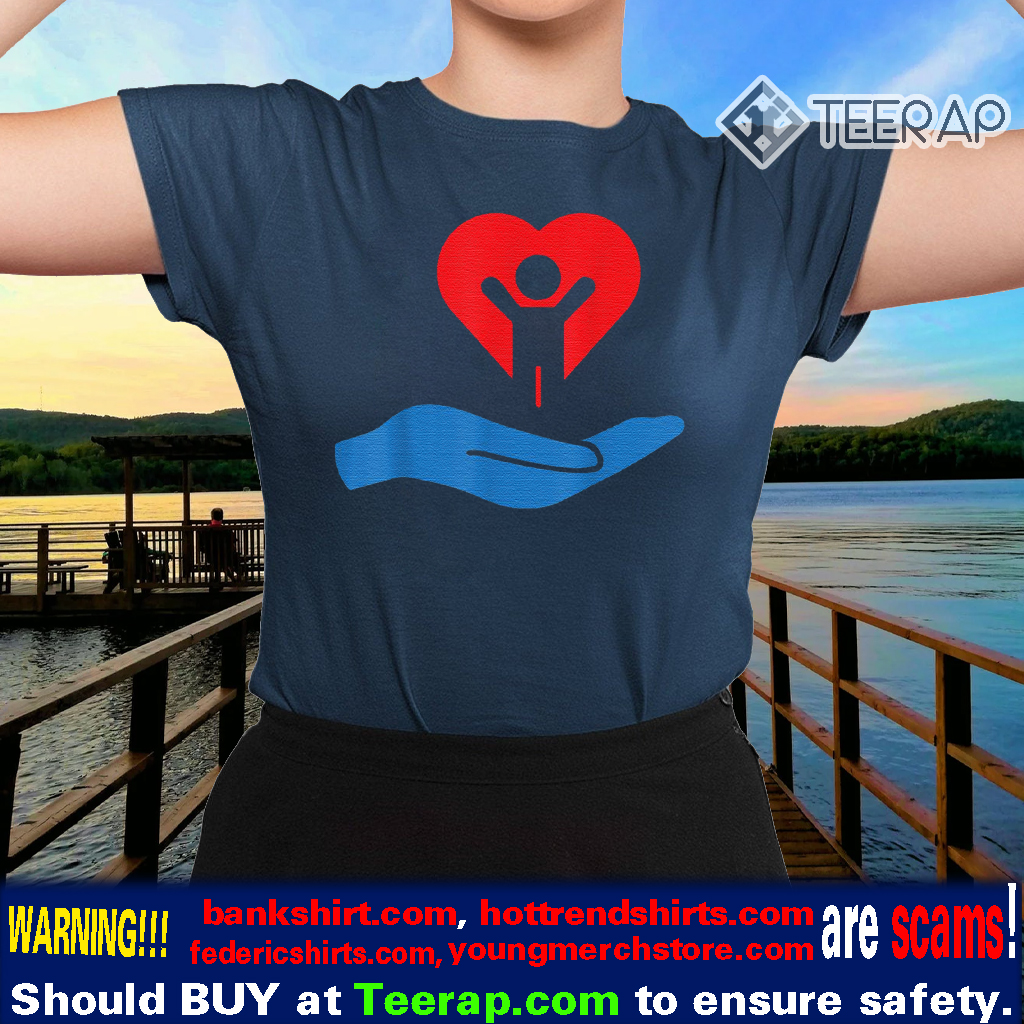 Autism awarness my hand heart t-shirt