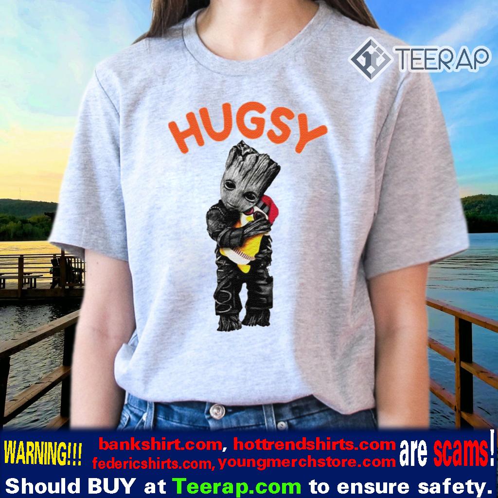 Baby Groot hug Hugsy shirts