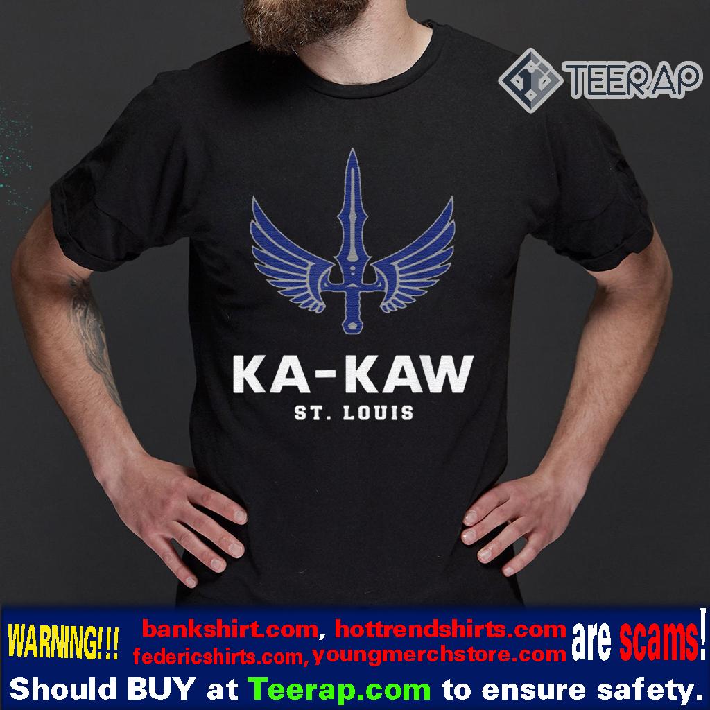 Battlehawks Football St Louis Shirt Fans Ka-Kaw Shirt