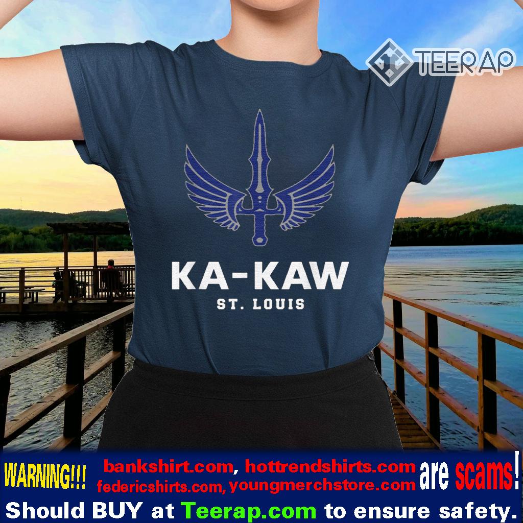 Battlehawks Football St Louis Shirt Fans Ka-Kaw Shirts