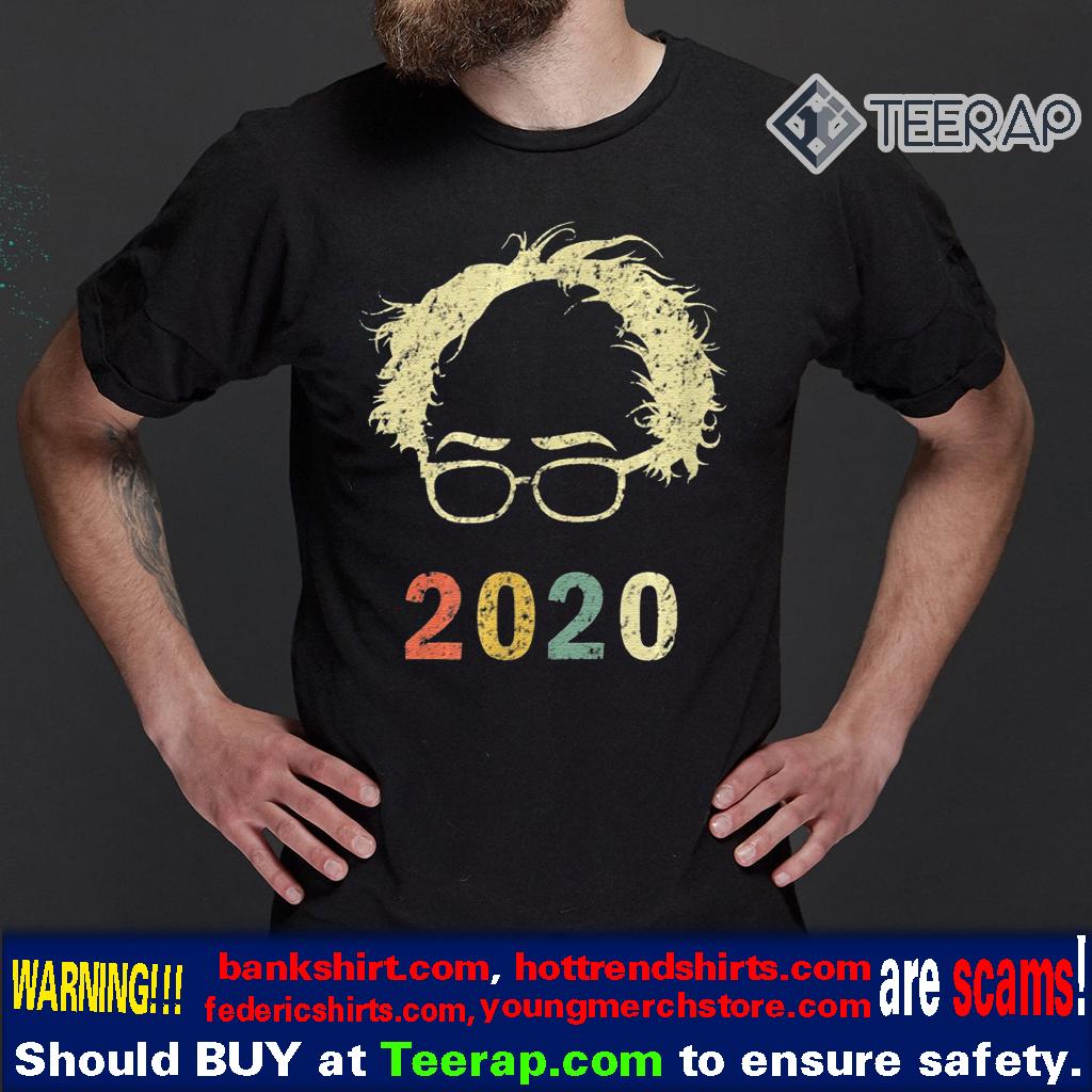 Bernie 2020 Glasses Hair Bernie Sanders Shirt