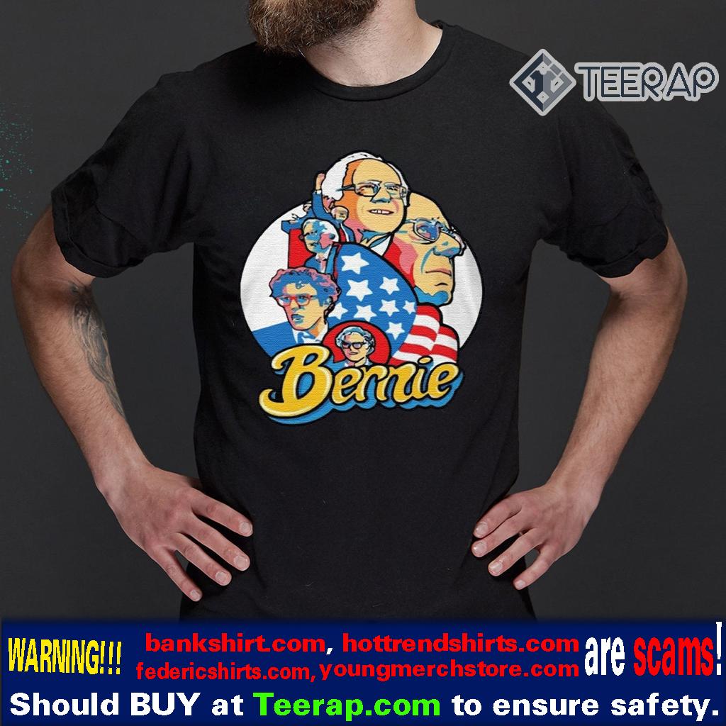 BERNIE SANDERS AMERICAN TIMELINE T-SHIRTS