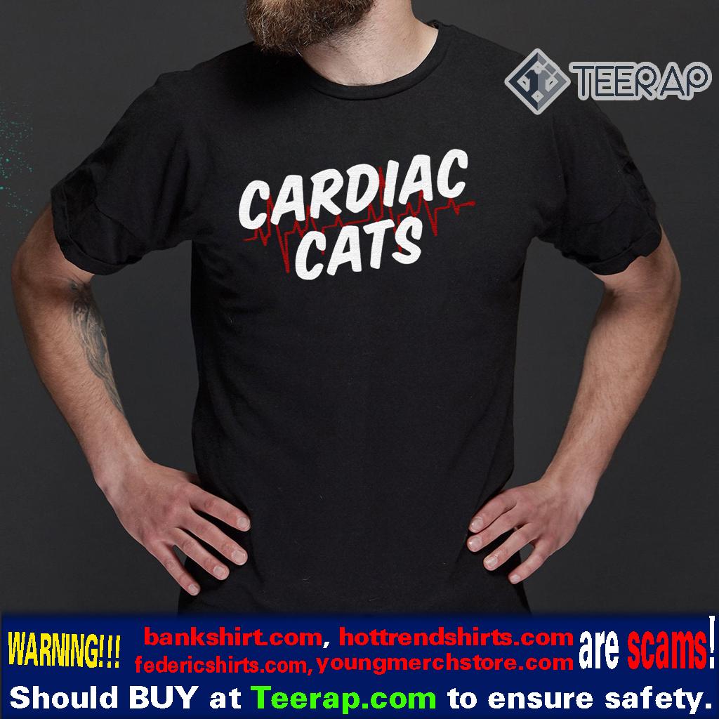 CARDIAC CATS T-SHIRTS