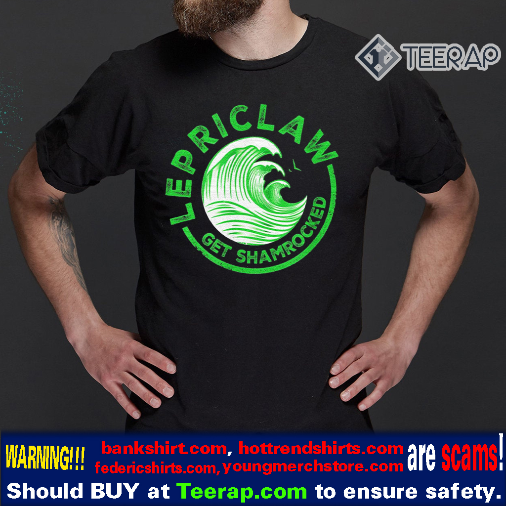 Drinking Claw – Lepriclaw Get Shamrocked White Claw T-Shirts