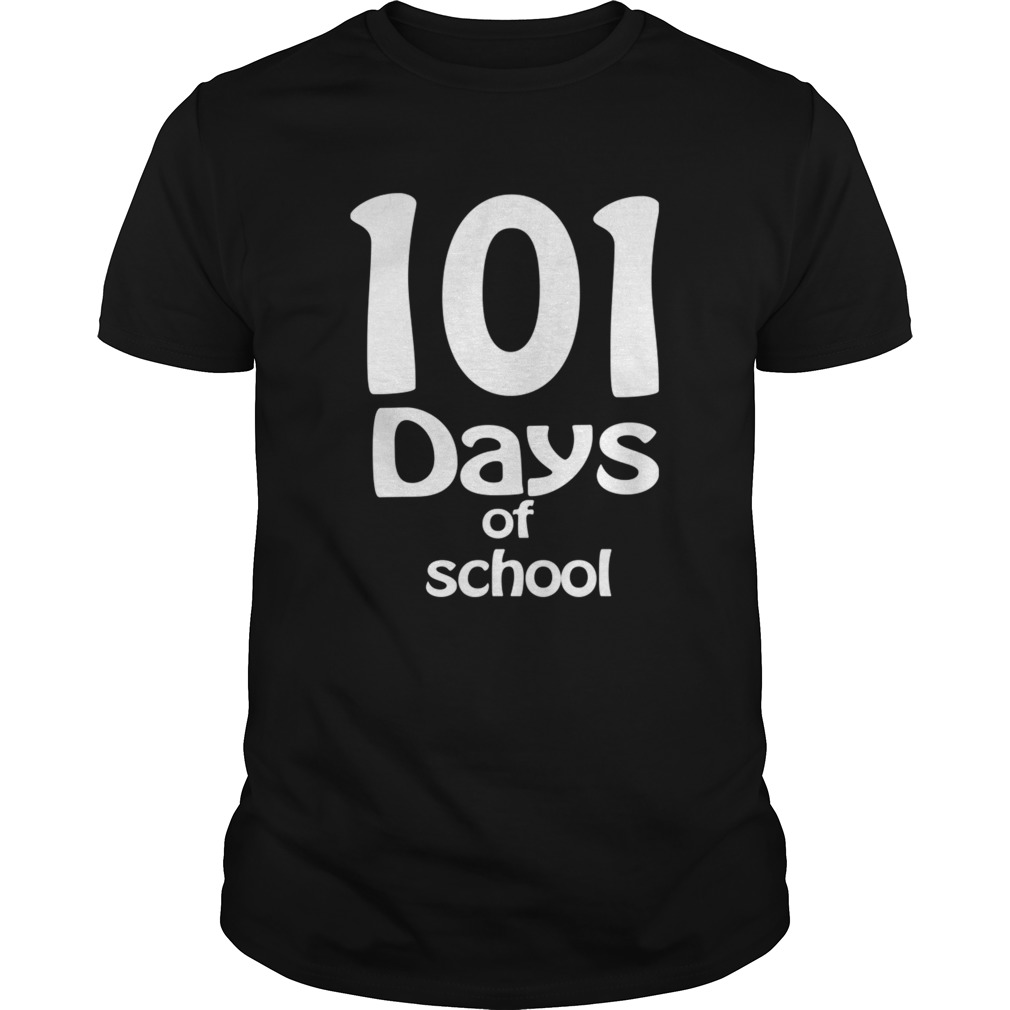 happy 101th days of school Teacher or Student  Unisex