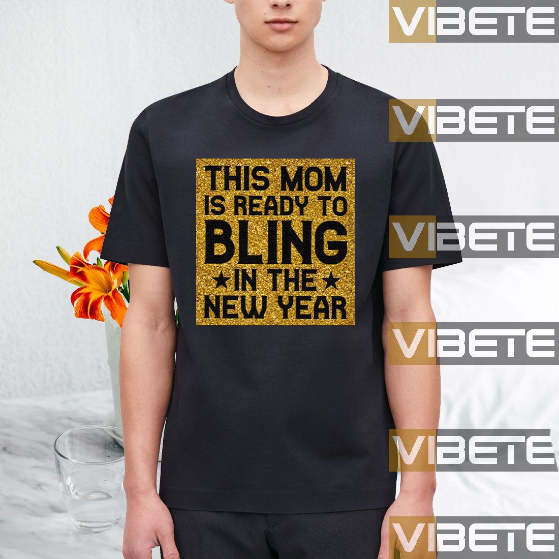 READY TO BLING IN THE NEW YEAR TEESHIRT