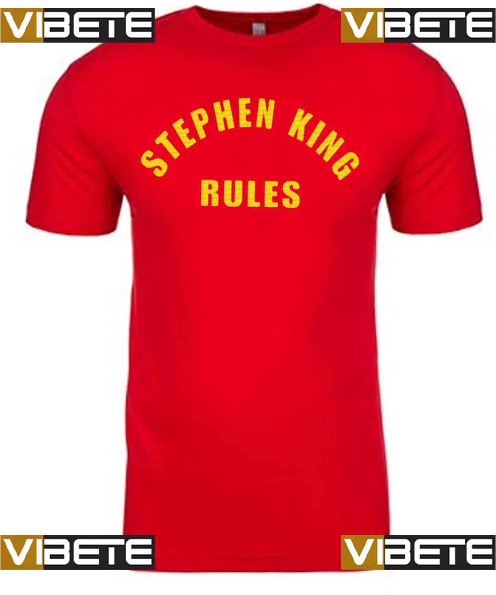 Stephen King rules tshirts