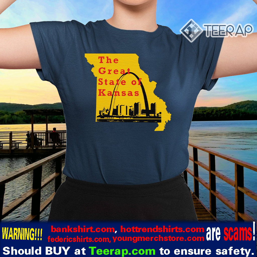 The Great State of Kansas Trump T-Shirt