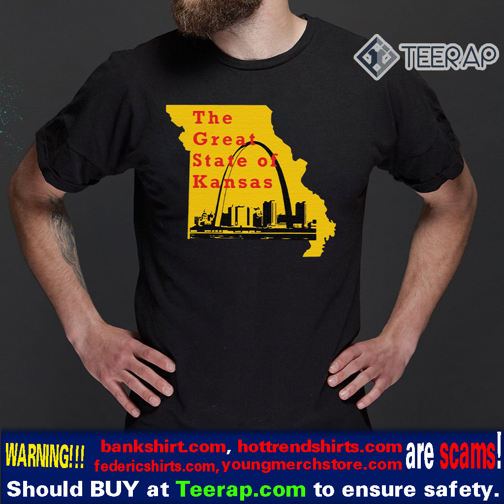 The Great State of Kansas Trump T-Shirts