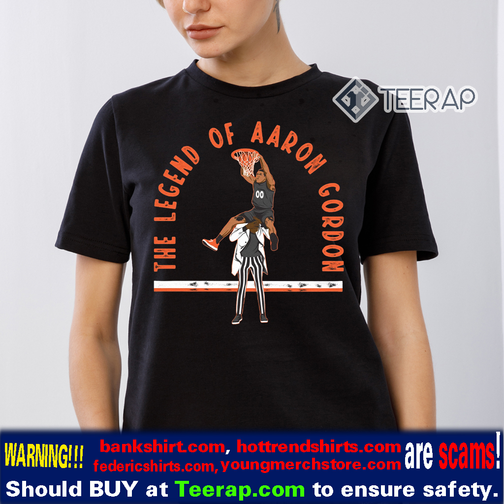 The Legend Of Aaron Gordon T-Shirt - Aaron Gordon - Tacko Fall