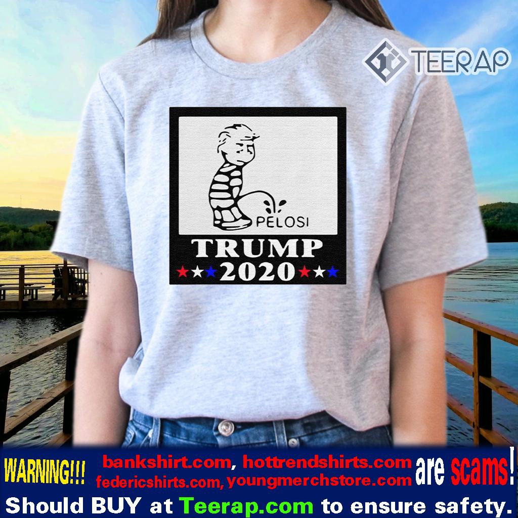 Trump Pee On Pelosi 2020 TShirt