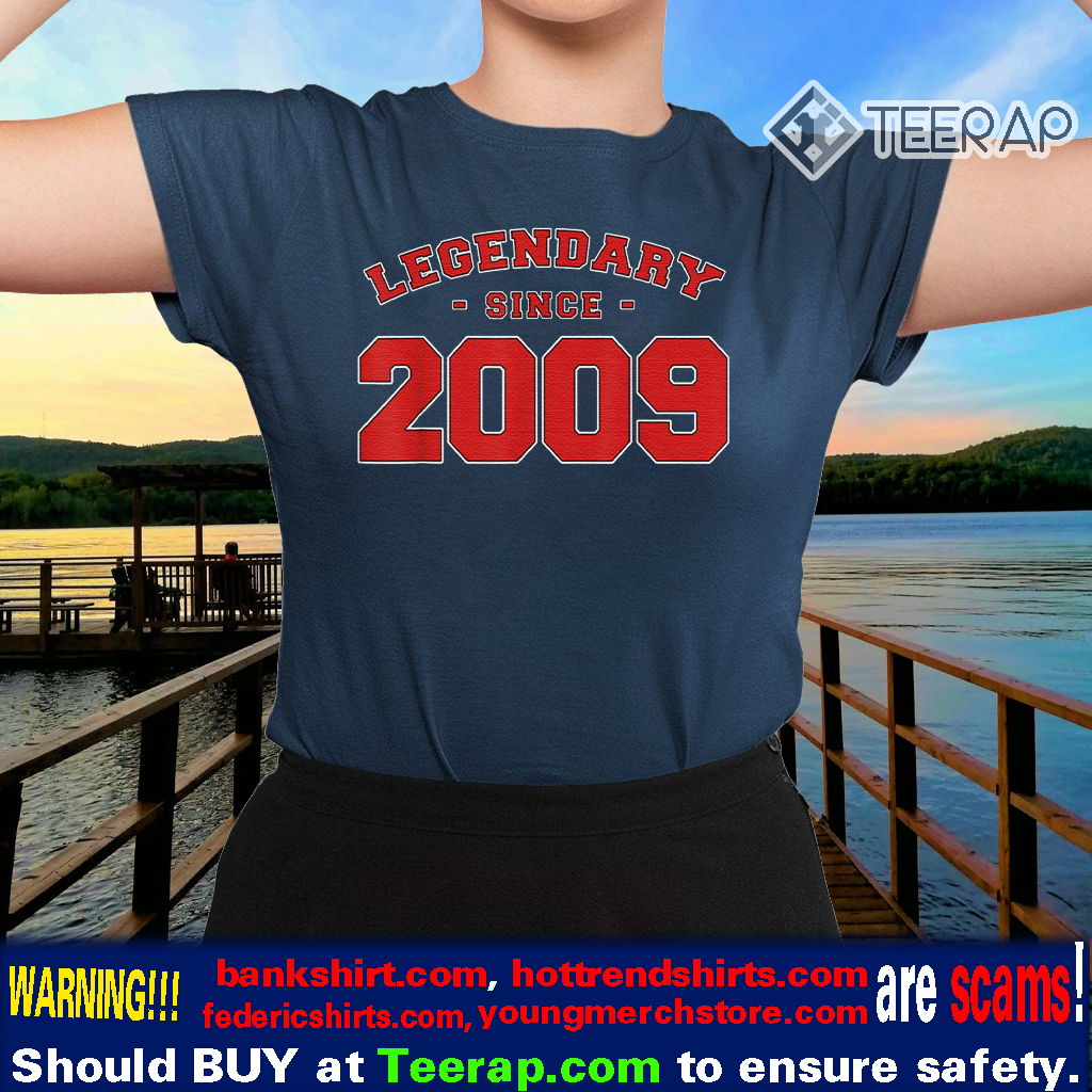 Vintage LEGENDARY SINCE 2009 11th Birthday T-Shirt