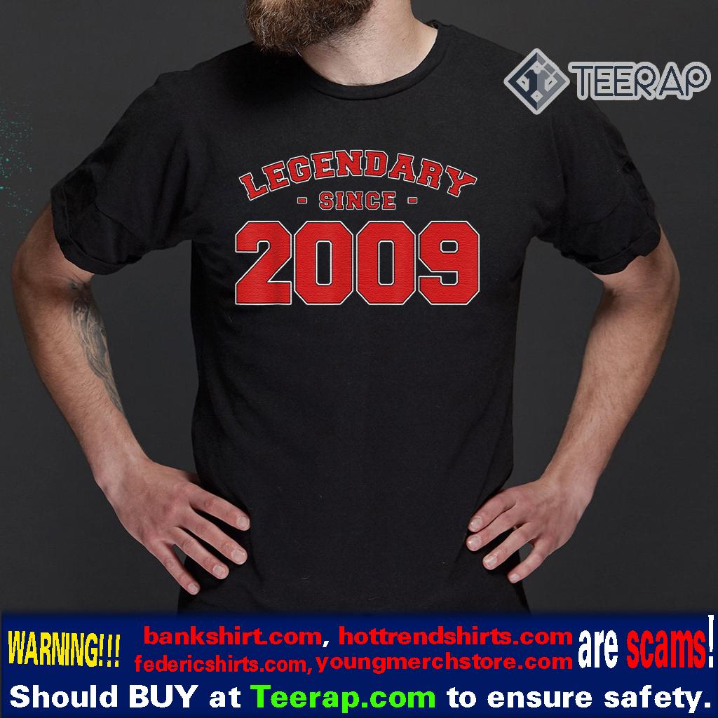 Vintage LEGENDARY SINCE 2009 11th Birthday T-Shirts