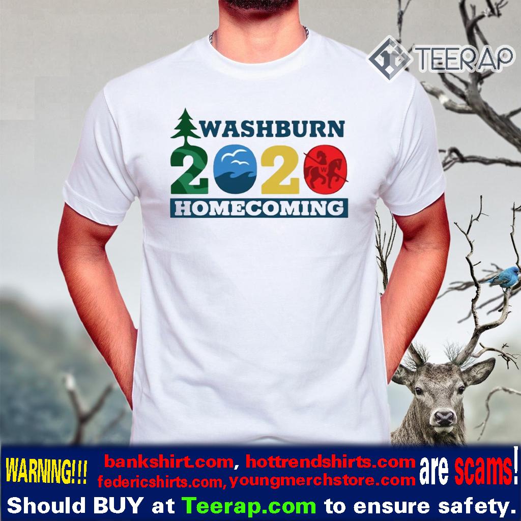 washburn homecoming 2020 t-shirts