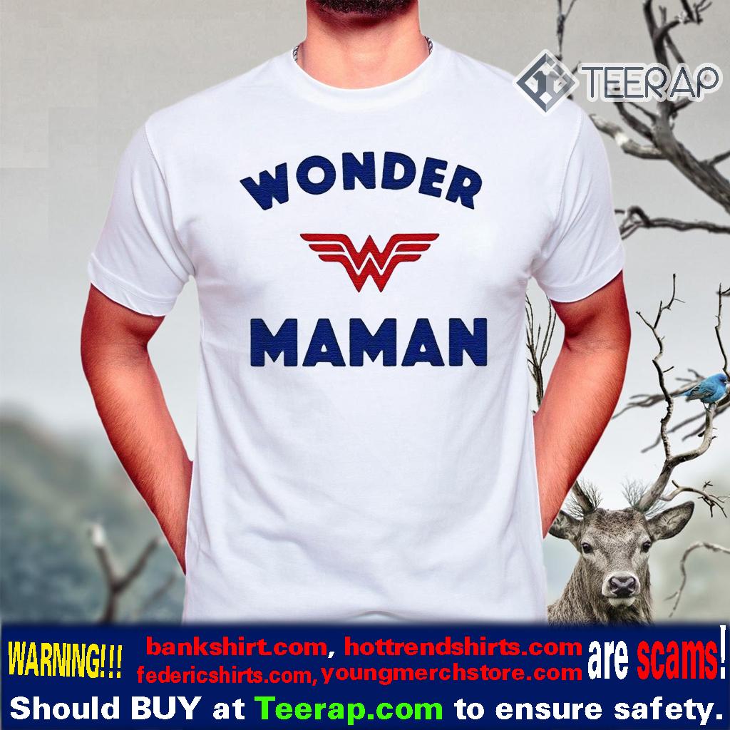 Wonder Woman Maman t-shirts