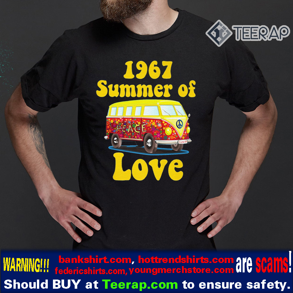 1967 SUMMER OF LOVE RETRO TEES VINTAGE T-Shirts