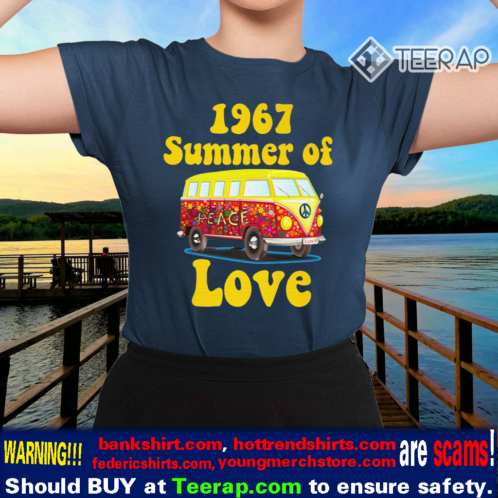 1967 SUMMER OF LOVE RETRO TEES VINTAGE TShirts