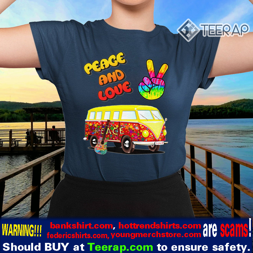 60s Peace and Love Hippie Premium TShirts