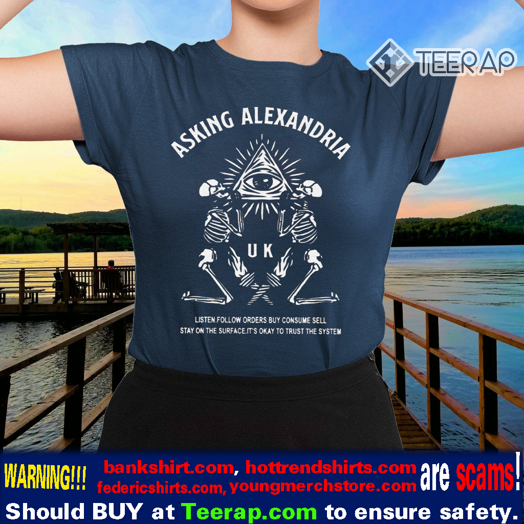 Asking Alexandria Trust The System Shirts