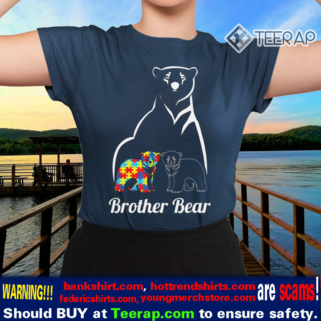 Autism Awareness Brother Bear Gift TShirts