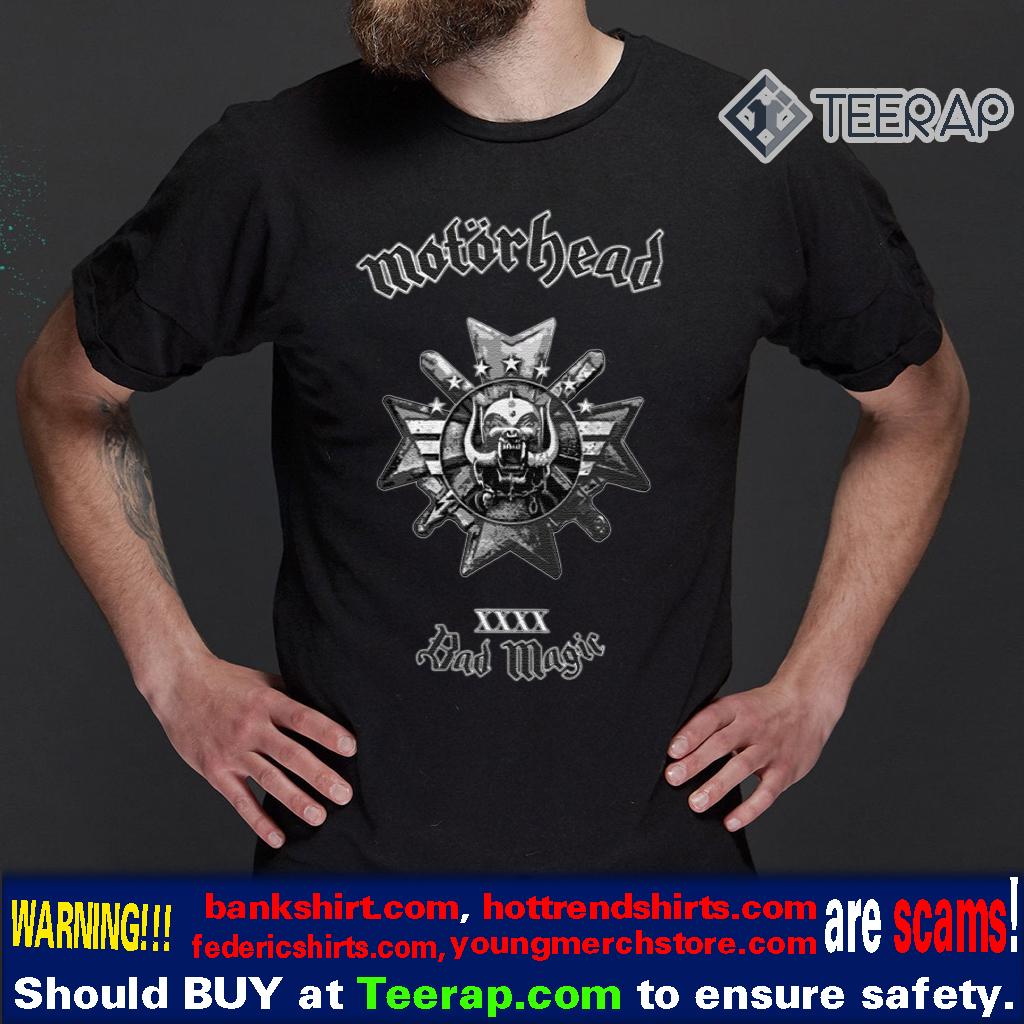bad magic t-shirts