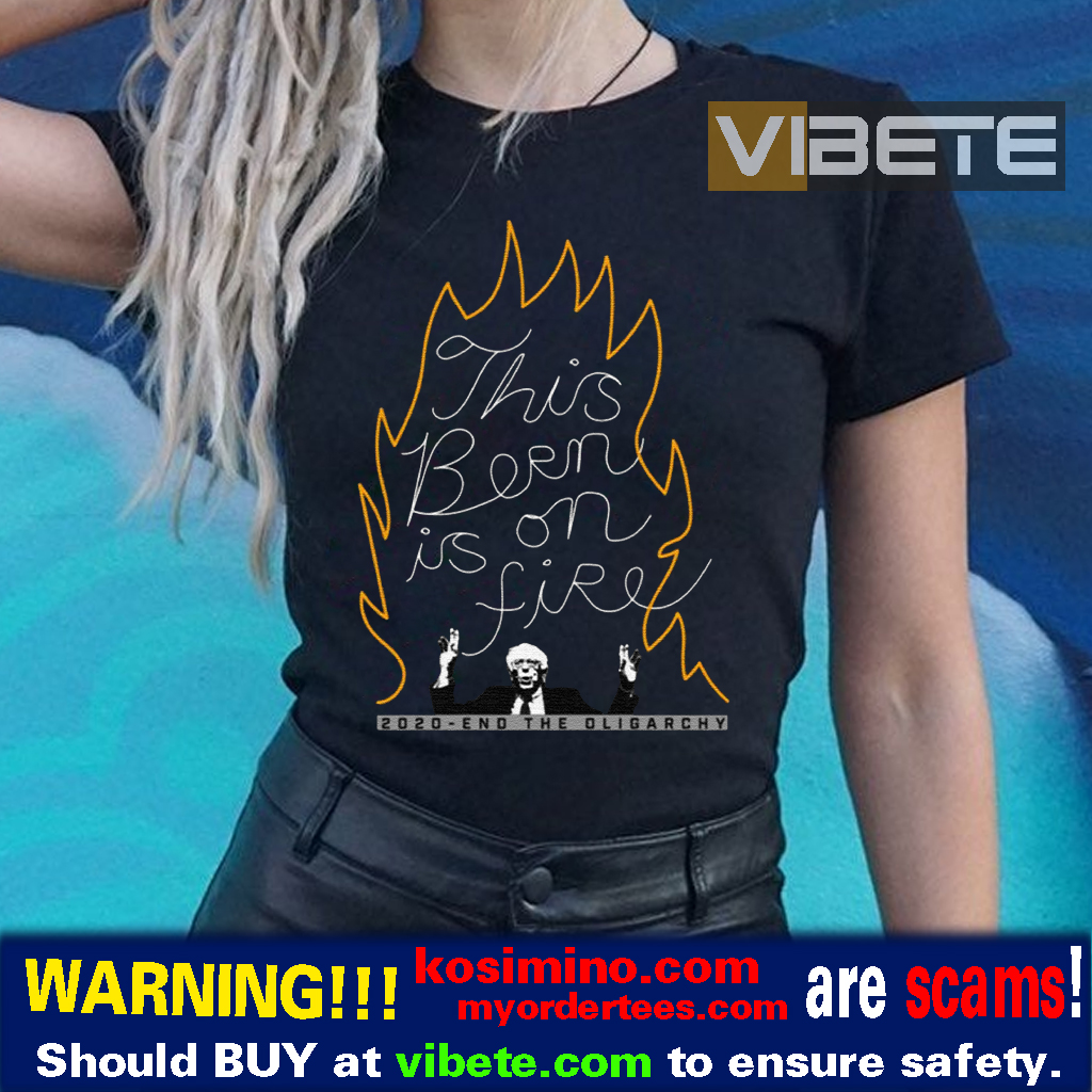 Bernie Sanders This Bern is on Fire Shirt