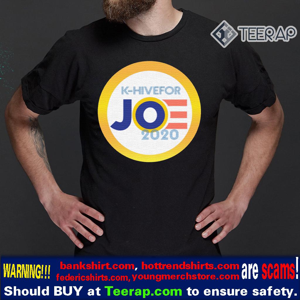 K-Hive For Joe 2020 T-Shirt Joe Biden 2020 Presidential Campaign T-Shirts