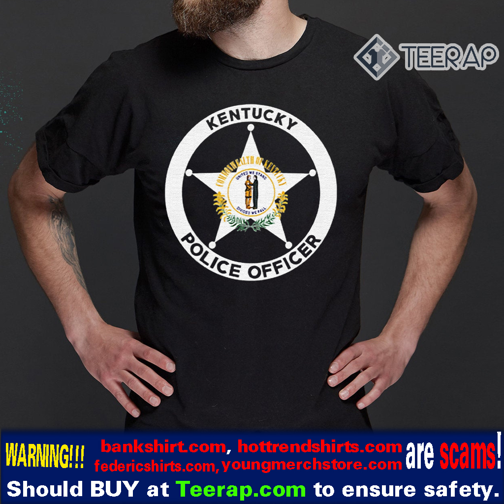 Kentucky Police Department Officer's Unifo T-Shirts