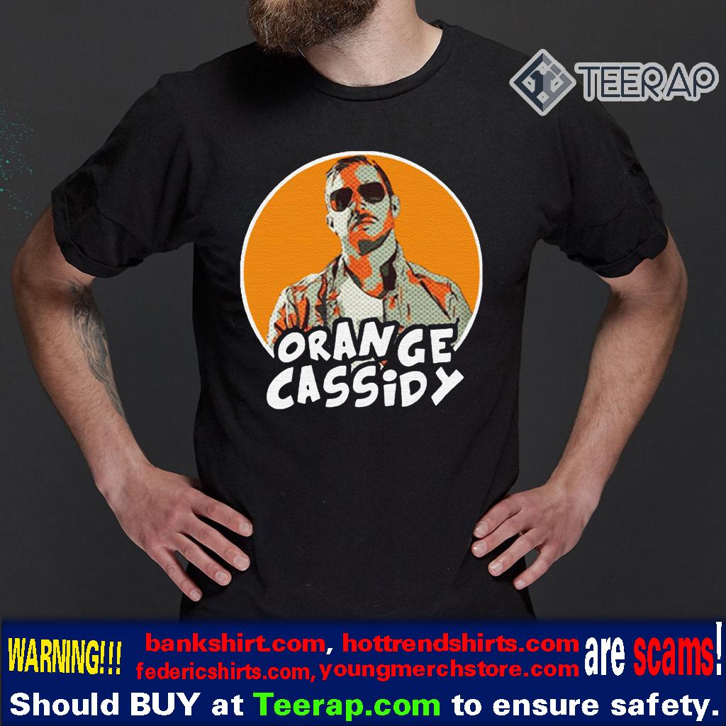 Orange cassidy t-shirts