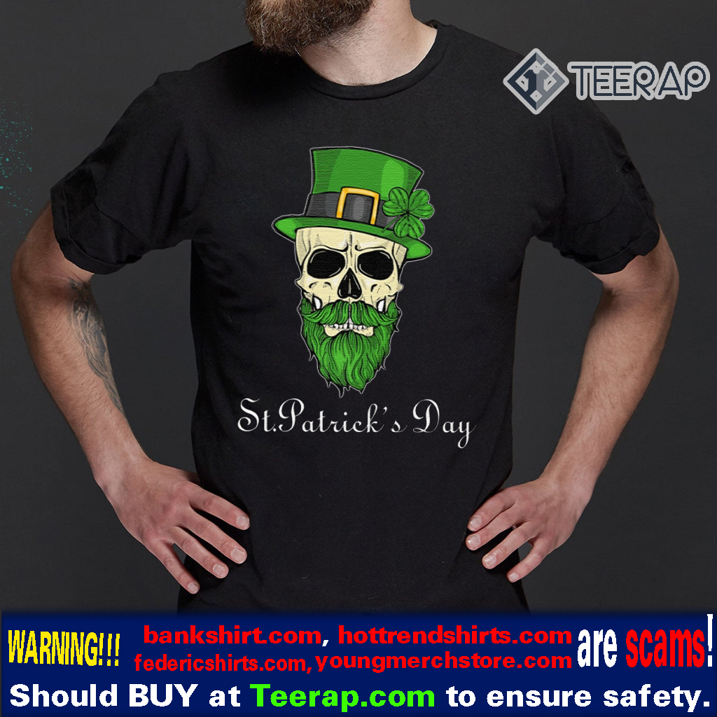 Sugar Skull St Patrick's Day Shirt