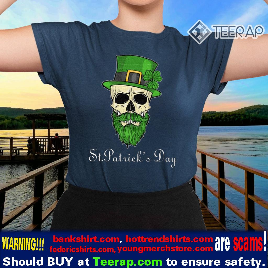 Sugar Skull St Patrick's Day Shirts