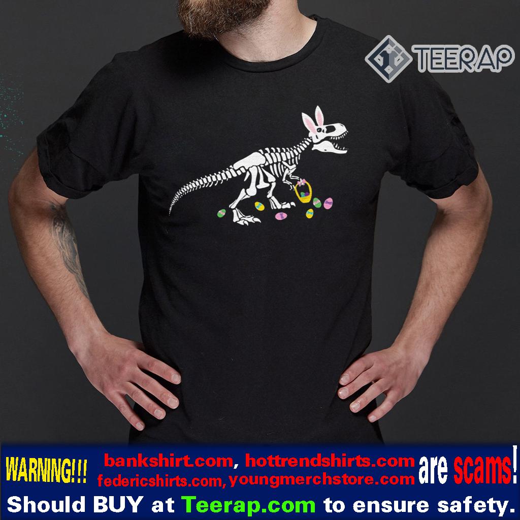 T-Rex Easter Dinosaur Bunny Shirt