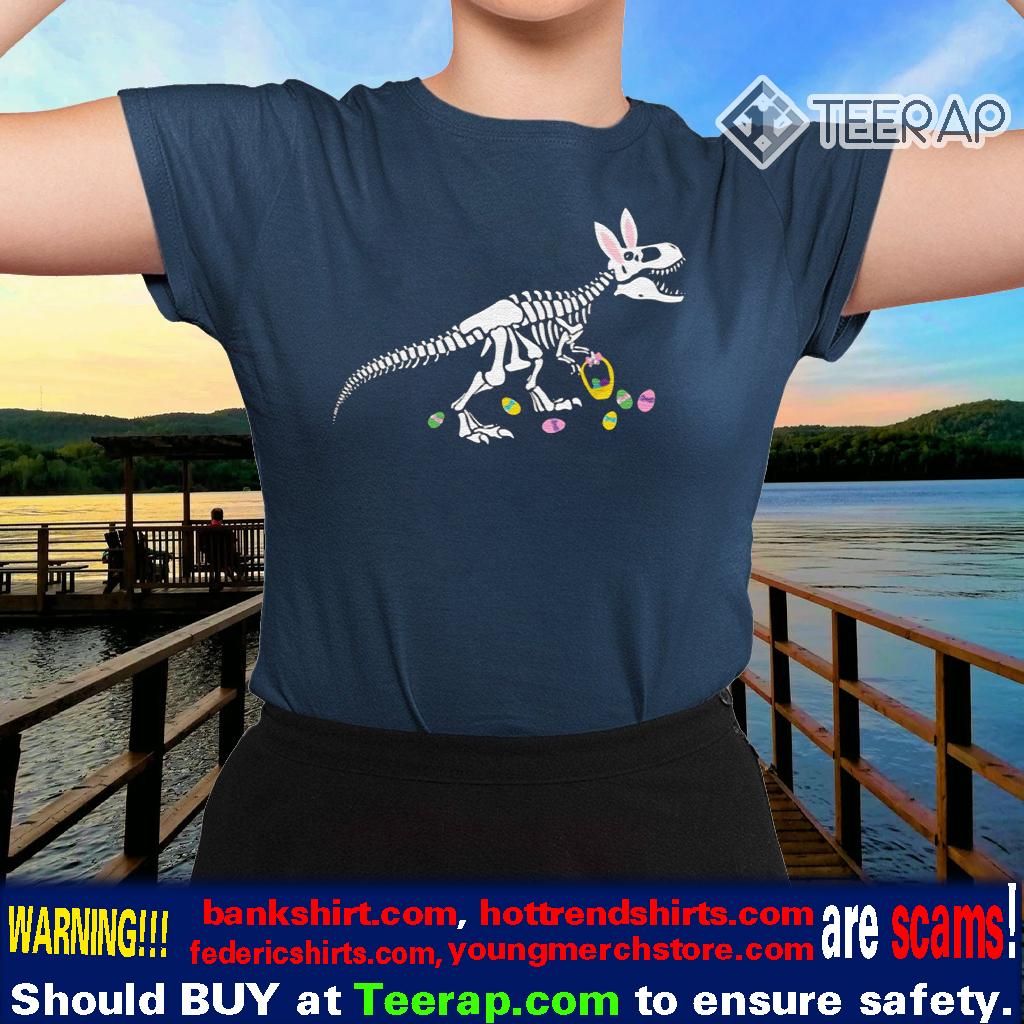 T-Rex Easter Dinosaur Bunny Shirts