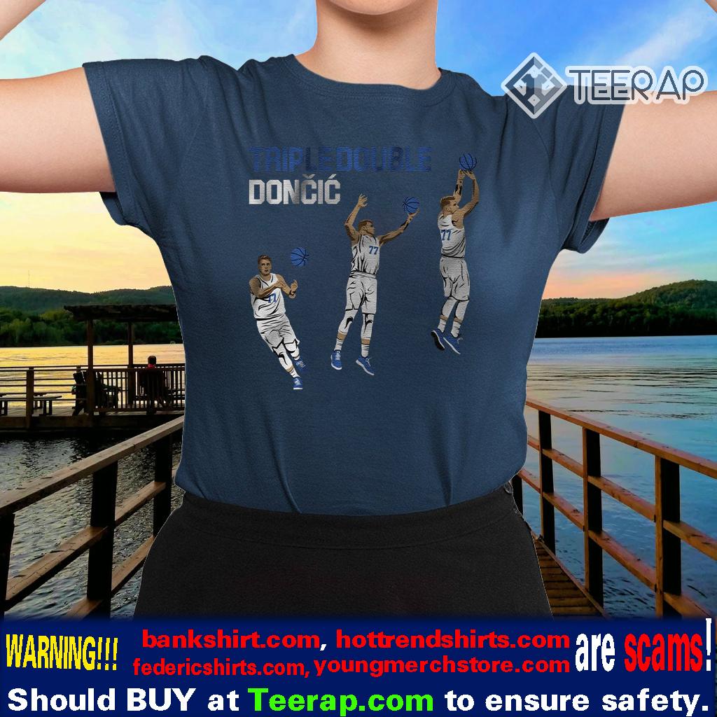 triple double doncic shirts
