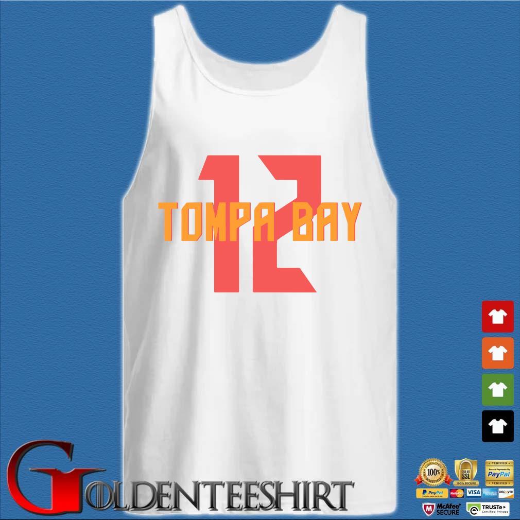 12 Tompa Bay Shirt Tank top trắng