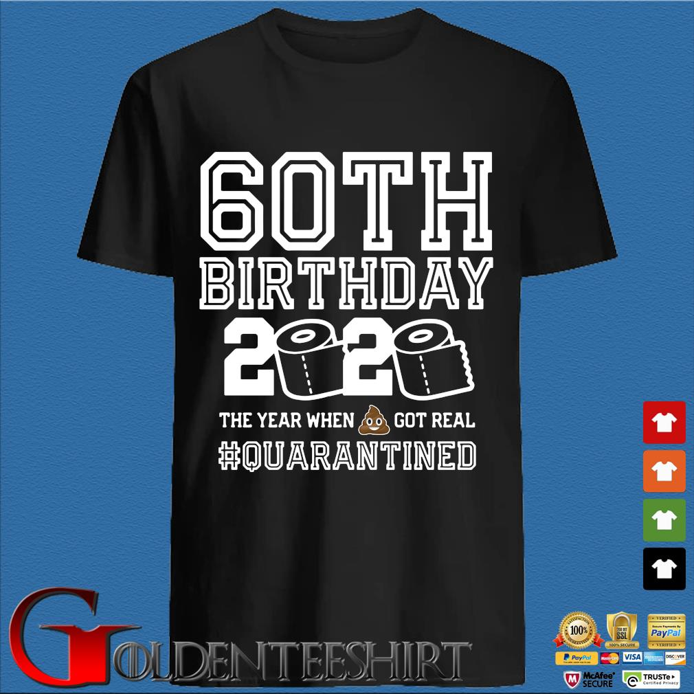 60th Birthday, Quarantine Shirt, The One Where I Was Quarantined 2020 T-Shirt