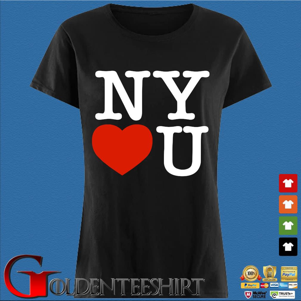 Andrew Cuomo New York Loves You Tee Shirt Den Ladies