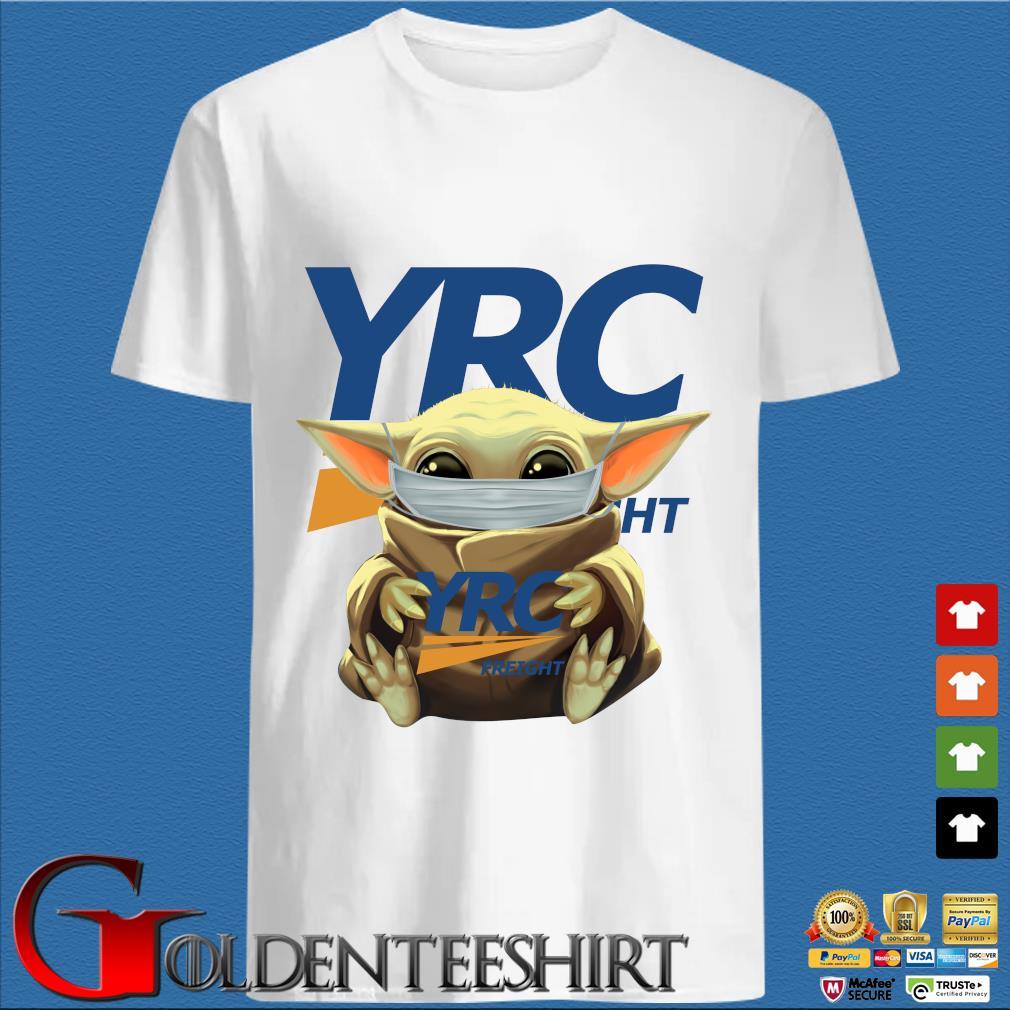 Baby Yoda Mask Hug YRC Freight Shirt