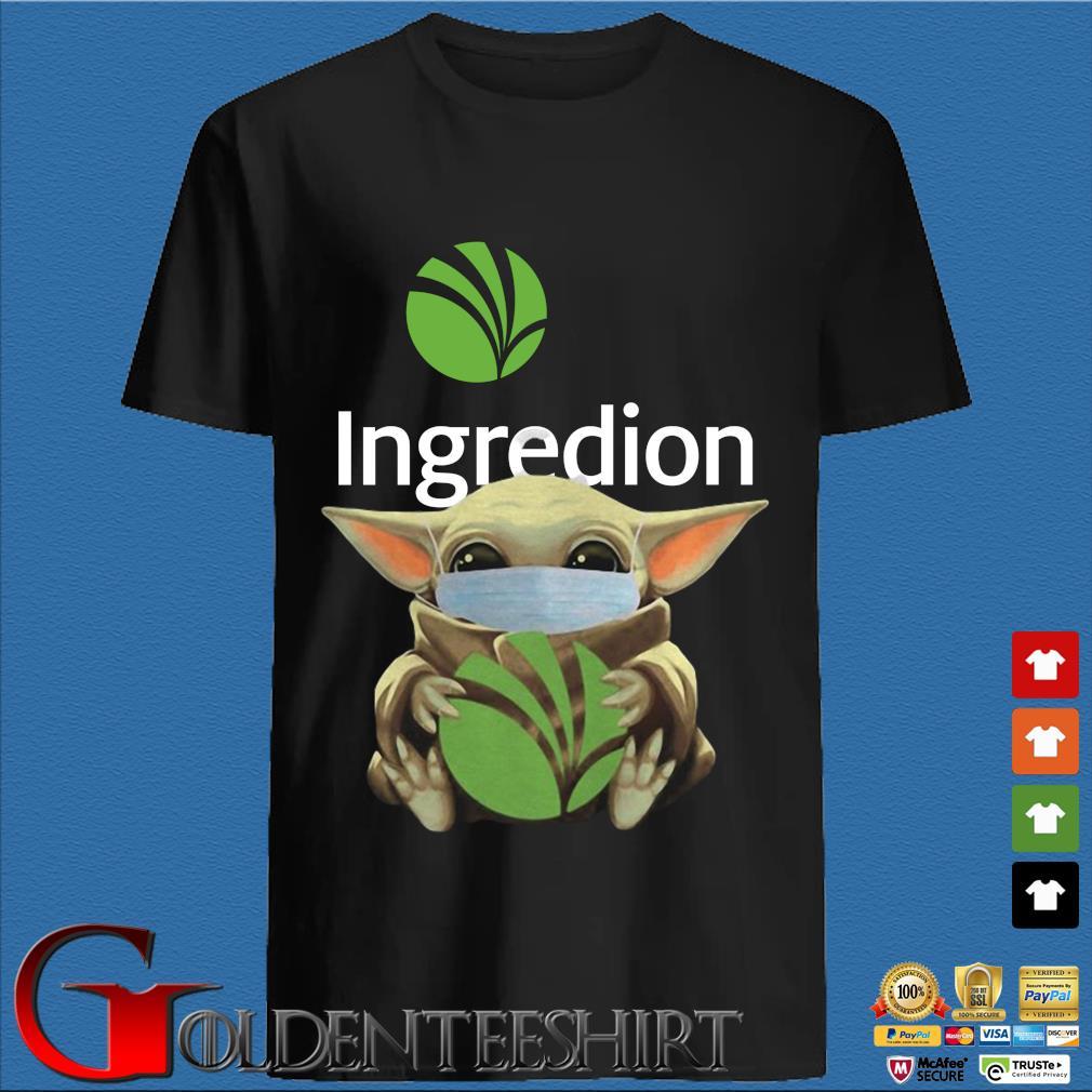 Baby Yoda Mask Ingredion Incorporated Shirt