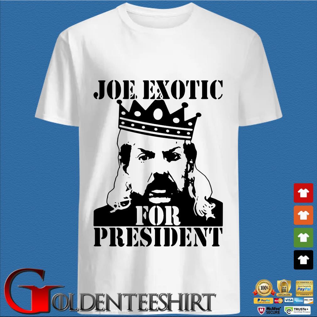 The Tiger King Joe Exotic For President Big Cat 90s T-shirt