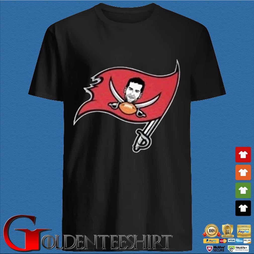Tompa Bay Flag Tee Shirt – Tom Brady Tampa Bay Buccaneers Shirt