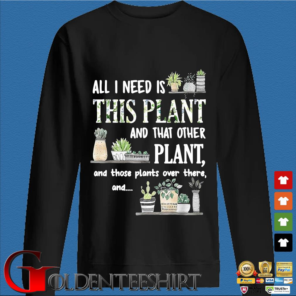 All I Need Is This Plant And That Other Plant And Those Pants Over There And Shirt Den Sweater