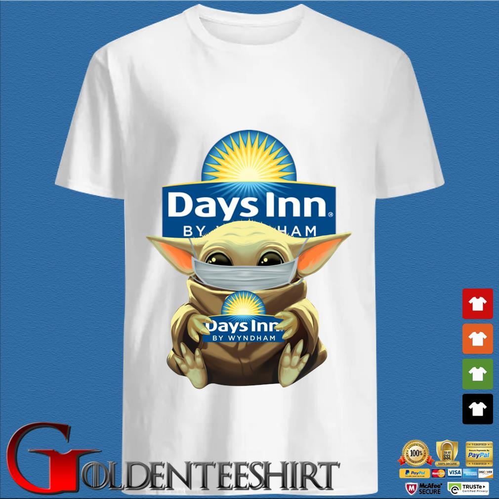 Baby Yoda Mask Hug Days Inn By Wyndham Shirt